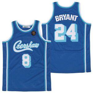Los Angeles Lakers 8%2624 Kobe Bryant Blue Jersey